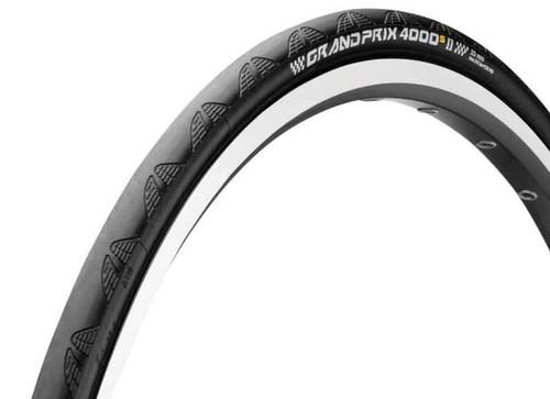Continental Grand Prix 4000-S II Clincher Tire, Black | Daily Deal