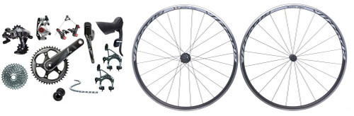 SRAM Force 1 Rim Groupset with a Vittoria Tactic Wheelset