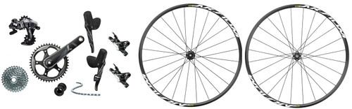 SRAM Force 1 Hydraulic Groupset with a Mavic Aksium Disc Wheelset