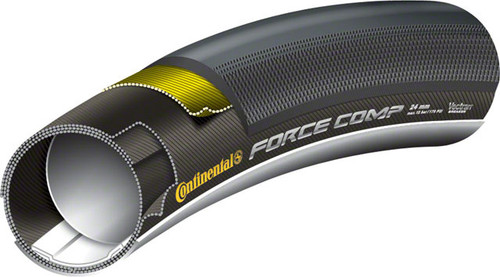 Continental Force Comp Rear Tubular Tire, 700c x 24mm