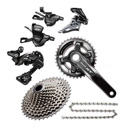 Shimano Deore XT M8000 11 Speed Groupset (less brake levers & calipers)