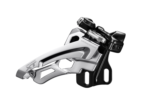 Shimano M8000-D Front Derailleur, Side Swing 3x11, Direct Mount