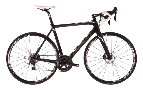 Ridley Fenix Disc Shimano STI equipped Carbon Bicycle, Black & White - Build It Your Way