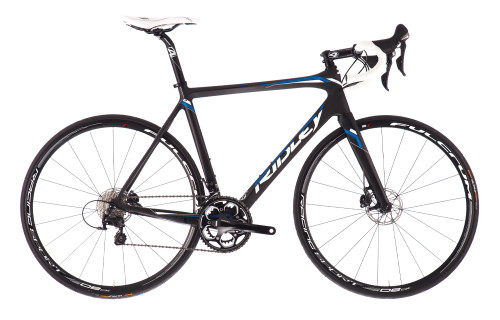 Ridley Fenix Disc Shimano Di2 equipped Carbon Bicycle, Black & Blue - Build It Your Way