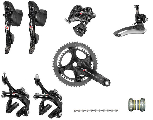 Campagnolo Record Ergo 11 Speed Groupset (less cassette)