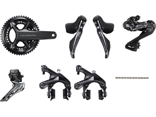 Shimano Ultegra R8150 Di2 Groupset (less cassette) - without Power Meter