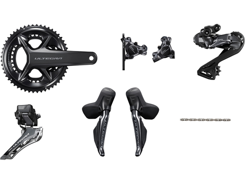 Shimano Ultegra R8170 Hydraulic Di2 Groupset (less cassette) without Power Meter