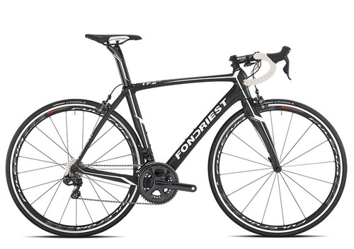 Eddy Merckx Mourenx 69 SRAM eTap equipped Carbon Bicycle, Grey, Red & Silver Accents - Build It Your Way - Build It Your Way