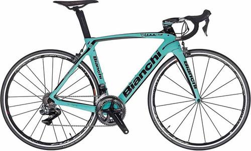 Bianchi Oltre XR.4 SRAM eTap equipped Carbon Bicycle, Matte Celeste Green - Build It Your Way