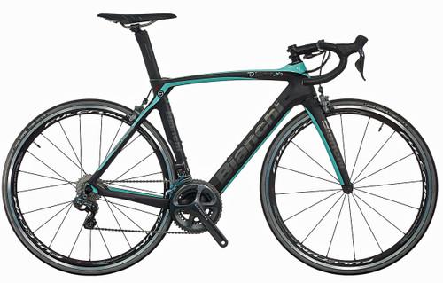 Bianchi Oltre XR.4 SRAM eTap equipped Carbon Bicycle, Matte Black - Build It Your Way