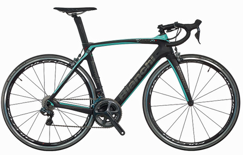 Bianchi Oltre XR.4 SRAM 22 equipped Carbon Bicycle, Matte Black - Build It Your Way