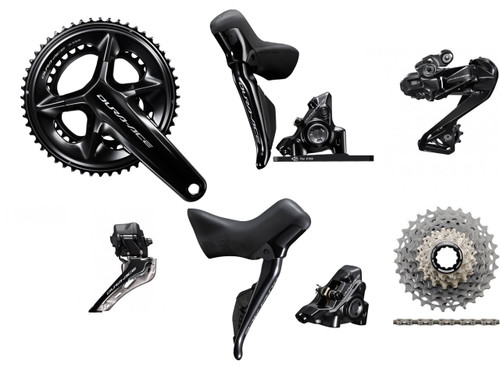 Shimano Dura-Ace R9270 Hydraulic Di2 Groupset - without power meter