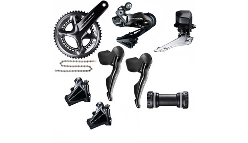Shimano  Dura-Ace  R9170  Hydraulic Flat Mount Di2 Groupset (less cassette)