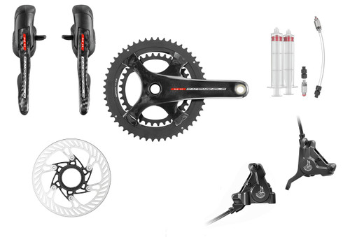 Campagnolo Record H11 Hydraulic Flat Mount Ergo 11 Speed Conversion Kit