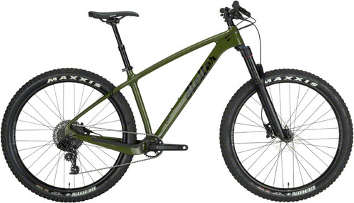 "Heller Shagamaw 27.5"" GX1 Bicycle, Olive"