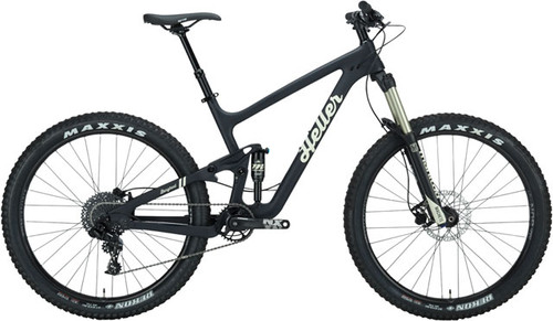 "Heller Barghest Carbon 27.5"" Full Suspension NX Bicycle, Flat Black"