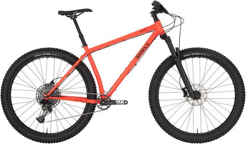 "Surly Krampus Front Suspension - 29"" Bicycle, Static Sunset"