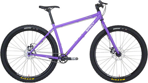 "Surly Karate Monkey 29"" Bicycle, Stand Back Purple"