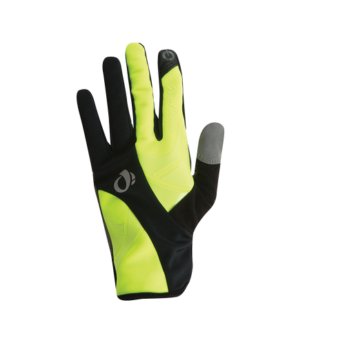 Pearl izumi Women's Cyclone Gel Gloves, Black / Sreaming Yellow