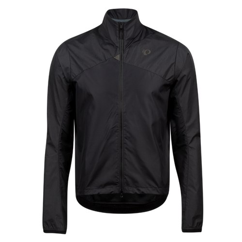 Pearl izumi BioViz Barrier Men's Jacket, Black / Reflective Triad, front