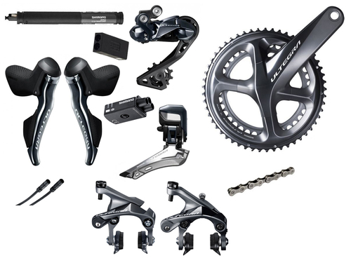 Cable Electric Shimano Di2 Ultegra Black 300 Mm for sale online