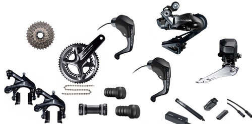 Shimano Dura-Ace  R9160 Rim Di2 Time Trial  Groupset