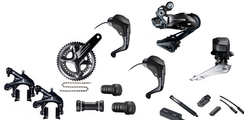 Shimano Dura-Ace  R9160 Rim Di2 Time Trial Groupset (less cassette)