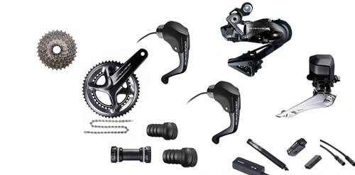 Shimano Dura-Ace  R9160 Rim Di2 Time Trial Groupset (less calipers)