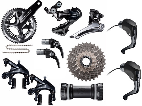 Shimano Dura-Ace  R9160 Rim STI Time Trial  Groupset