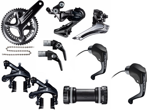 Shimano Dura-Ace  R9160 Rim STI Time Trial Groupset (less cassette)