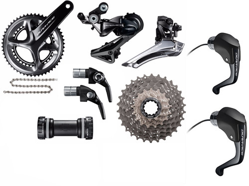 Shimano Dura-Ace  R9160 Rim STI Time Trial Groupset (less calipers)