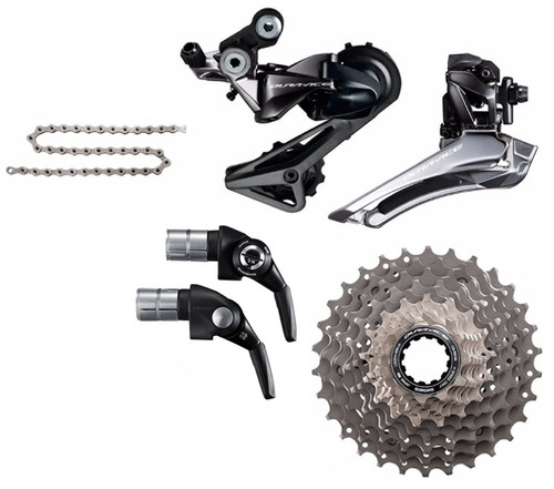 Shimano Dura-Ace  R9160 STI Rim Time Trial 5 Piece Conversion Kit