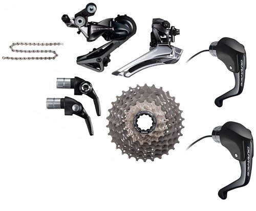 Shimano Dura-Ace  R9160 STI Rim Time Trial 6 piece Upgrade Kit
