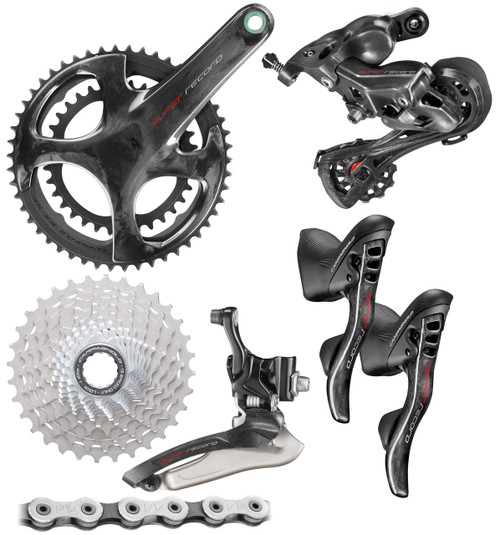 Campagnolo Super Record Rim Ergo 12 Speed Groupset (less calipers)