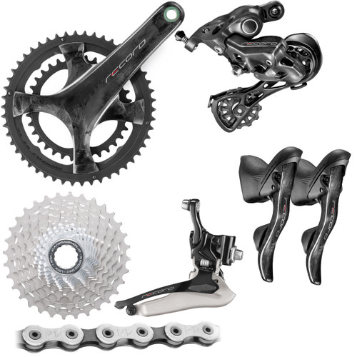 Campagnolo  Record Rim Ergo 12 Speed Groupset (less calipers)
