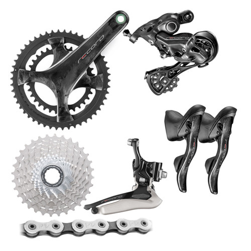 Campagnolo Record Rim Ergo 12 Speed Groupset (less calipers) - 500