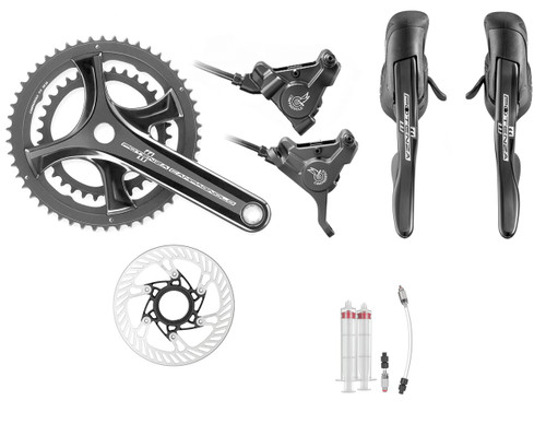 Campagnolo Potenza Hydraulic Flat Mount Ergo 11 Speed Conversion Kit