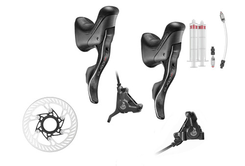 Campagnolo Record H12 Hydraulic Flat Mount Ergo 12 Speed Upgrade Kit