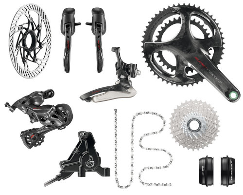 Campagnolo Super Record H12 Hydraulic Flat Mount Ergo 12 Speed