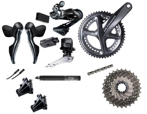 Shimano Di2 Hydraulic Road Bike Build Kit