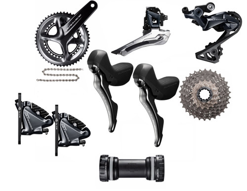 Shimano STI Hydraulic Road Bike Build Kit