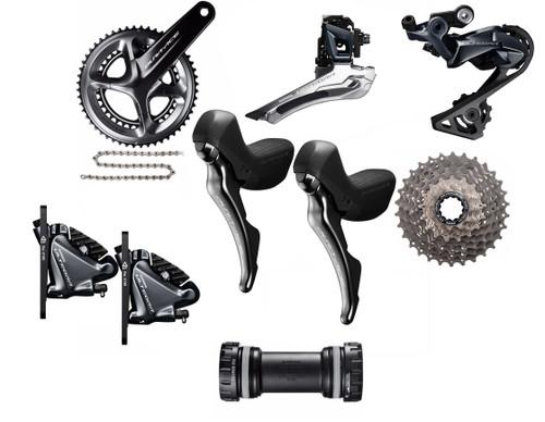 Shimano STI Hydraulic Road Bike Build Kit