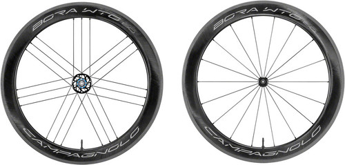 Campagnolo Bora WTO 60 Wheelset, Bright Label