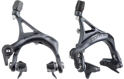 SRAM FORCE AXS Brake Calipers Front Or Rear Gray Rim Road Bike Brakes