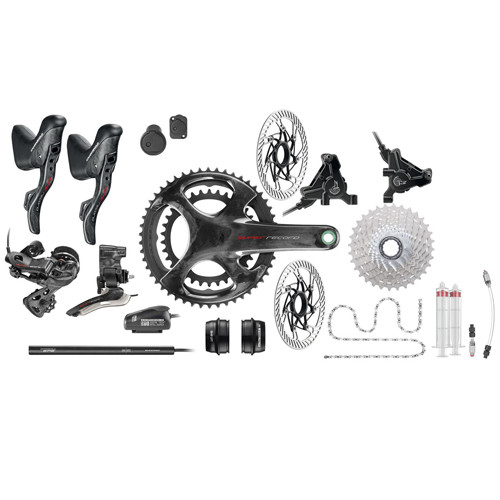 Campagnolo Super Record Hydraulic Flat Mount EPS 12 Speed Groupset - 500