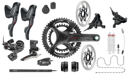 Campagnolo Super Record H12 Hydraulic Flat Mount EPS 12 Speed Groupset