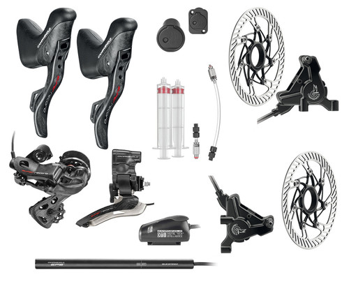 Campagnolo Super Record Hydraulic Flat Mount EPS V4 12 Speed Conversion Kit