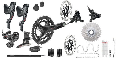 Campagnolo Super Record / Record H12 Hydraulic Flat Mount EPS 12 Speed Groupset