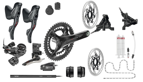 Campagnolo Super Record / Record Hydraulic Flat Mount EPS 12 Speed Groupset (less cassette)