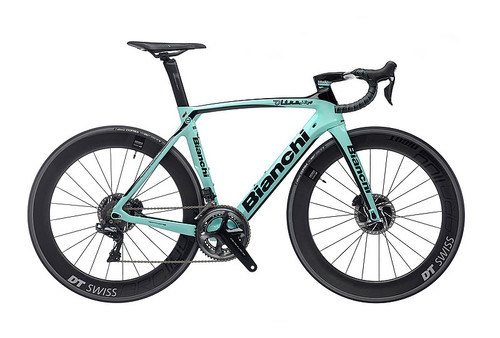 Bianchi Oltre XR.4 Disc Shimano STI Hydraulic equipped Carbon Bicycle, Gloss Celeste Green - Build It Your Way